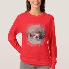 Westie & Scottie Winter Magpie T-Shirt