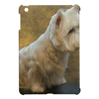 Westie sitting cover for the iPad mini