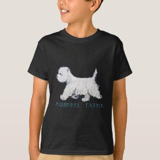 Westie Squirrel Patrol T-Shirt
