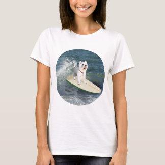 Westie Surfer T-Shirt