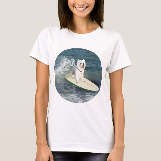 Westie Surfer T-Shirt