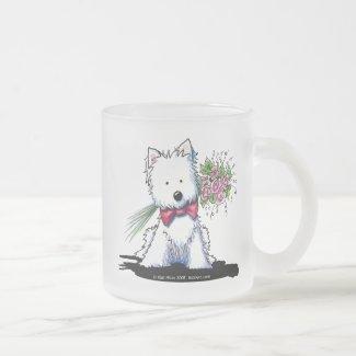 Westie Valentine Prince Mug