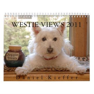 WESTIE VIEWS 2011 CALENDAR