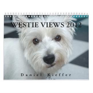 WESTIE VIEWS 2012 Calendar