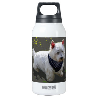 WESTIE: WANNA PLAY? SIGG THERMO 0.3L INSULATED BOTTLE