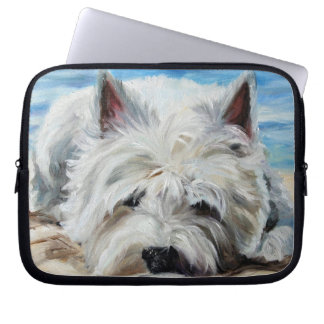westie West Highland Terrier Dog Laptop Case Laptop Computer Sleeve