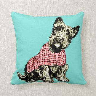 westie west highland terrier dog pillow cushion