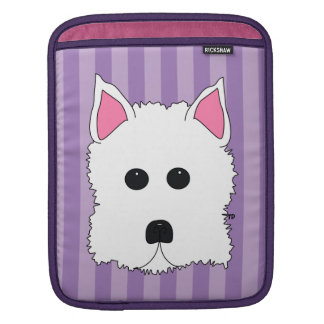 Westie West Highland Terrier Sleeves For iPads