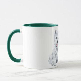 Westie Wisdom - Fat Dog? Mug