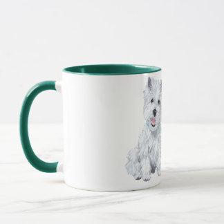 Westie Wisdom - The average Dog is a nicer person Mug