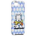 Westie With Duck Toy iPhone 5 Case