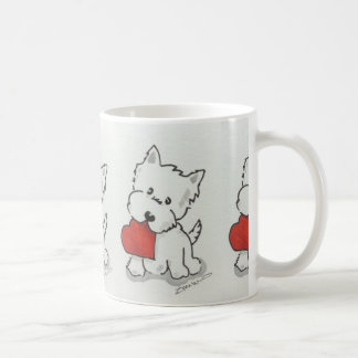 Westie With Heart Coffee Mug