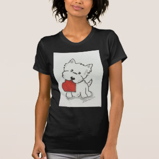 Westie With Heart T-Shirt