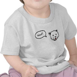 Westie Woof Baby Tee