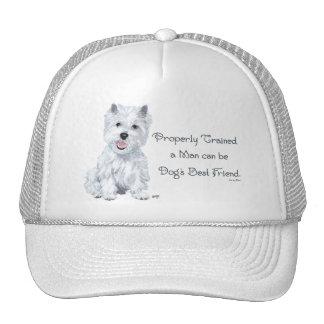 Westie Words of Wisdom Trucker Hat