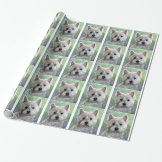 WESTIE GIFT WRAPPING PAPER
