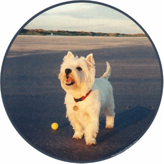 Westies and the Ocean Cutout
