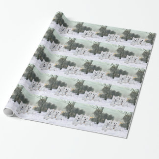 Westies Christmas Cheer Wrapping Paper
