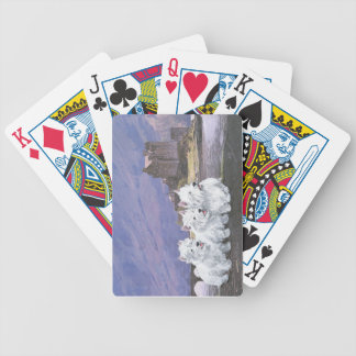 Westies in Scotland Bicycle Playing Cards