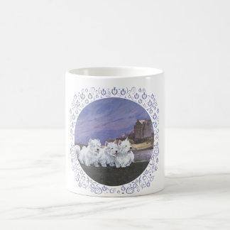 Westies in Scotland Classic White Coffee Mug