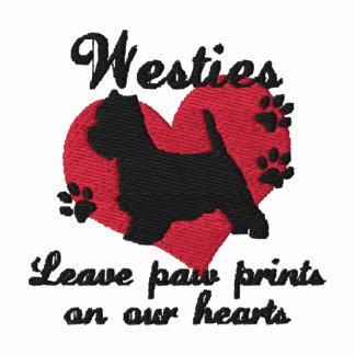 Westies Leave Paw Prints