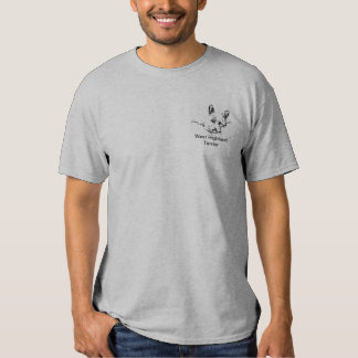 Westies Love,  black and white drawing T Shirt