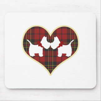 Westies Mouse Pad