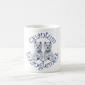 Westies Quantum Entanglement Classic White Coffee Mug