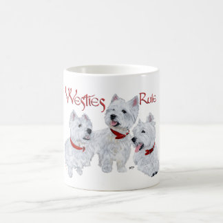 Westies Rule! Coffee Mug