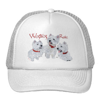 Westies Rule! Trucker Hat