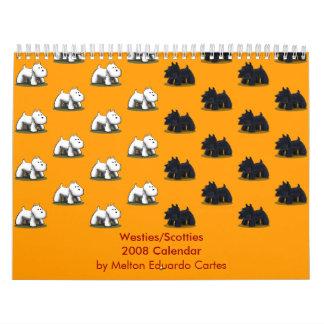 Westies/Scotties 2008 Calendar
