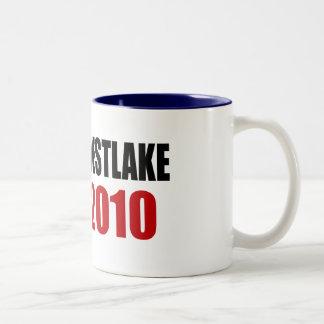 WESTLAKE 2010 Two-Tone COFFEE MUG