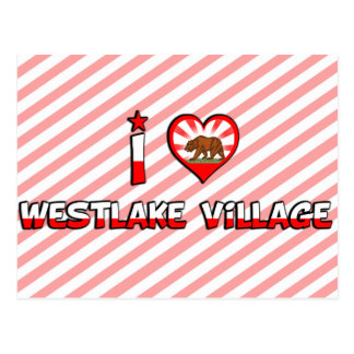 Westlake Village, CA Postcard