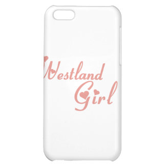 Westland Girl tee shirts Case For iPhone 5C