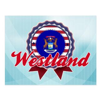 Westland, MI Postcard