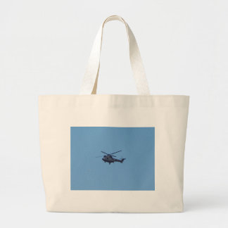 Westland Puma Military Helicopter Large Tote Bag