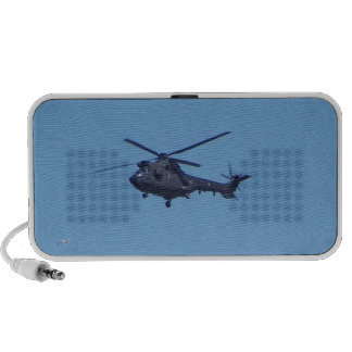 Westland Puma Military Helicopter Portable Speakers