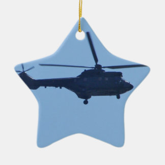 Westland Puma Double-Sided Star Ceramic Christmas Ornament