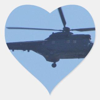 Westland Puma Heart Sticker