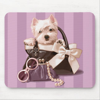 Westland Terrier Mouse Pad
