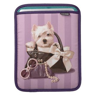 Westland Terrier Puppy iPad Sleeve
