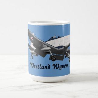 Westland Wyvern Classic White Coffee Mug