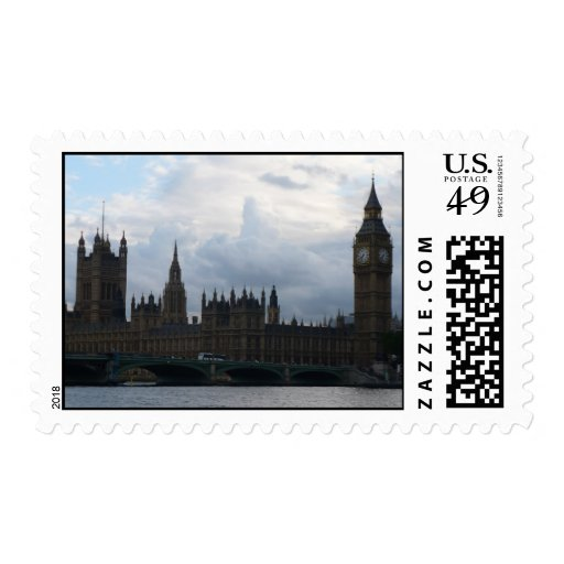 Westminister Abbey Postage Stamp