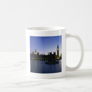 Westminister Palace at Night Coffee Mug