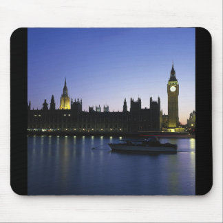 Westminister Palace at Night Mousepad
