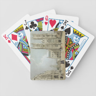 Westminster Abbey and Hospital, from 'London As It Bicycle Playing Cards