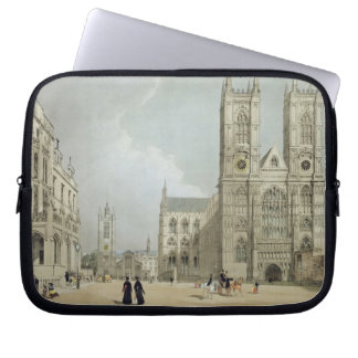 Westminster Abbey and Hospital, from 'London As It Laptop Sleeve
