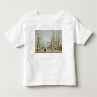 Westminster Abbey and Hospital, from 'London As It Toddler T-shirt