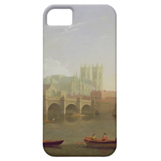 Westminster Abbey and Westminster Bridge Seen from iPhone SE/5/5s Case