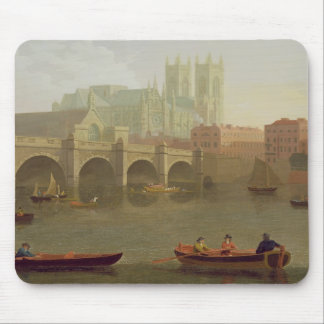 Westminster Abbey and Westminster Bridge Seen from Mouse Pad